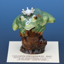 Birthstone Tree Frog Prince October Opal Miniatures by Hagen-Renaker