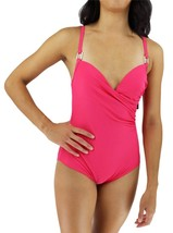 BRAND NEW COCO LIMON WOMEN'S BATHING SUIT ONE PIECE PINK STYLE:3029R SIZE 14