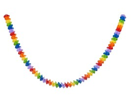 American Greetings Rainbow Paper Garland, Multicolor - $14.26