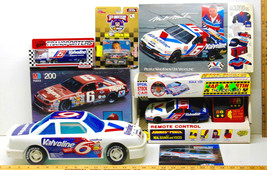 Vintage Mark Martin Mixed Memorabilia Lot Die Cast+Puzzle+Ertl #6 +1/25 ... - $31.78