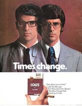 Vintage 1974 Colt Cigar Magazine Print Ad - $6.00