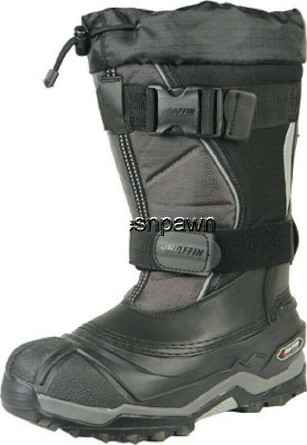 New Mens Size 12 Baffin Selkirk Snowmobile Winter Snow Boots Rated -94 F