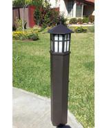 Antique Bronze Outdoor Path Light Landscape Garden Exterior Progress Lig... - $124.64