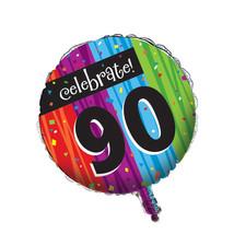Metallic Balloon 90th Milestone Celebrations/Case of 12 - ₨3,123.26 INR
