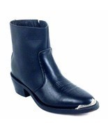 Five Star Climate Black Men's Cowboy Boot  Style # 1003 Bk Size 8.5,13. - $1.458,34 MXN