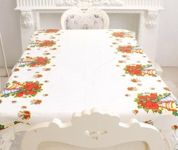 Christmas Rectangular Tablecloth Dining Table Covers - $4.79