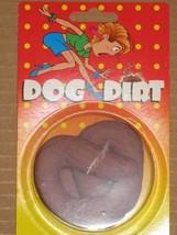 DOGGIE DIRT DOO POO POOP RUBBER FAKE DOG CRAP JOKE PRANK TRICKS - $4.46