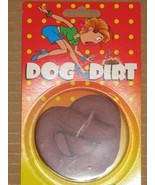 DOGGIE DIRT DOO POO POOP RUBBER FAKE DOG CRAP JOKE PRANK TRICKS - $4.46