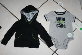 Hooded Jacket and Bodysuit Size 6-9 Months Disney Baby 2 Piece Set - New... - $9.99