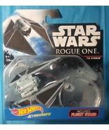 Hot Wheels 1:64 Star Wars Starships Flight Stand TIE STRIKER - $2.96
