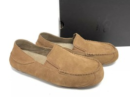 UGG Australia Mens Upshaw Chestnut Brown 1014635 Slip-On Loafers Shoes Oxfords 9 - $79.99