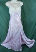 Victorias Secret Lingerie Pink Long Negligee Ni... - $39.55