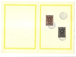 VATICAN CITY - First Day Folders - 1960 - 2 issues image 2