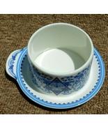 Spode Judaica Collection 2004 Honey Pot F2007-A14 Affixed Plate - $22.99