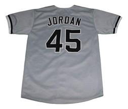 Michael Jordan Birmingham Baseball Jersey Button Down Grey Any Size image 5