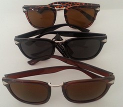 Wayfarer Sunglasses Black Brown or Tortoise Frame Dark Lenses - £5.37 GBP