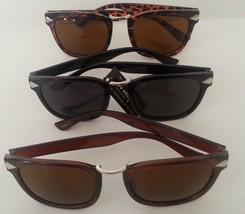 Wayfarer Sunglasses Black Brown or Tortoise Frame Dark Lenses - $7.49