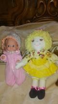 Handmade Rag Doll with extra vintage Mattel doll - $29.70