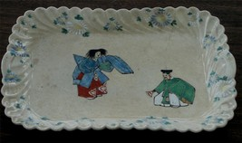 Nice Vintage Ceramic Tray, LOOKS QUITE OLD, GREAT DESIGN - $17.81