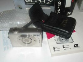 VINTAGE CAMERA - CANON ELPH 2 CAMERA- BOXED   - EXC - G14 - $14.69