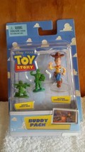 Disney / Pixar Toy Story Mini Figure Buddy Pack Green Army Men and Actio... - $19.56