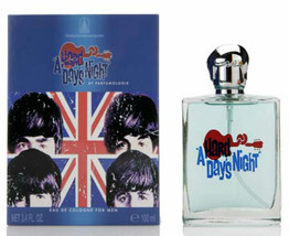 NEW BEATLES MEN'S A HARD DAY'S NIGHT COLOGNE in GIFT BOX McCartney, Lennon, - £18.60 GBP