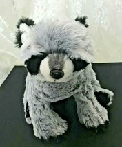 "GANZ Webkinz Raccoon HL07701 Nose to Tail 12""  Super Soft and Cuddly - $26.27"