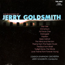 The Film Music Of Jerry Goldsmith CD - $16.99