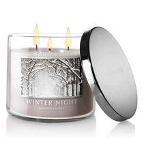 Bath & Body Works Slatkin & Co. WINTER NIGHT Scented Candle, 14.5 oz - €114,49 EUR