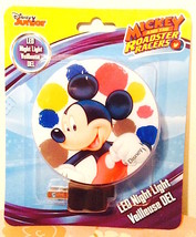 Disney Mickey Mouse Led Night Light  New in Package—More Characters Avail  Too