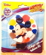 Disney Mickey Mouse Led Night Light  New in Package—More Characters Avai... - $5.25