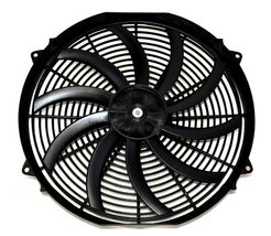 "A-TEAM 130031 16"" Heavy Duty 12V Radiator Electric Wide Curved S Blade FAN 3000 image 3"