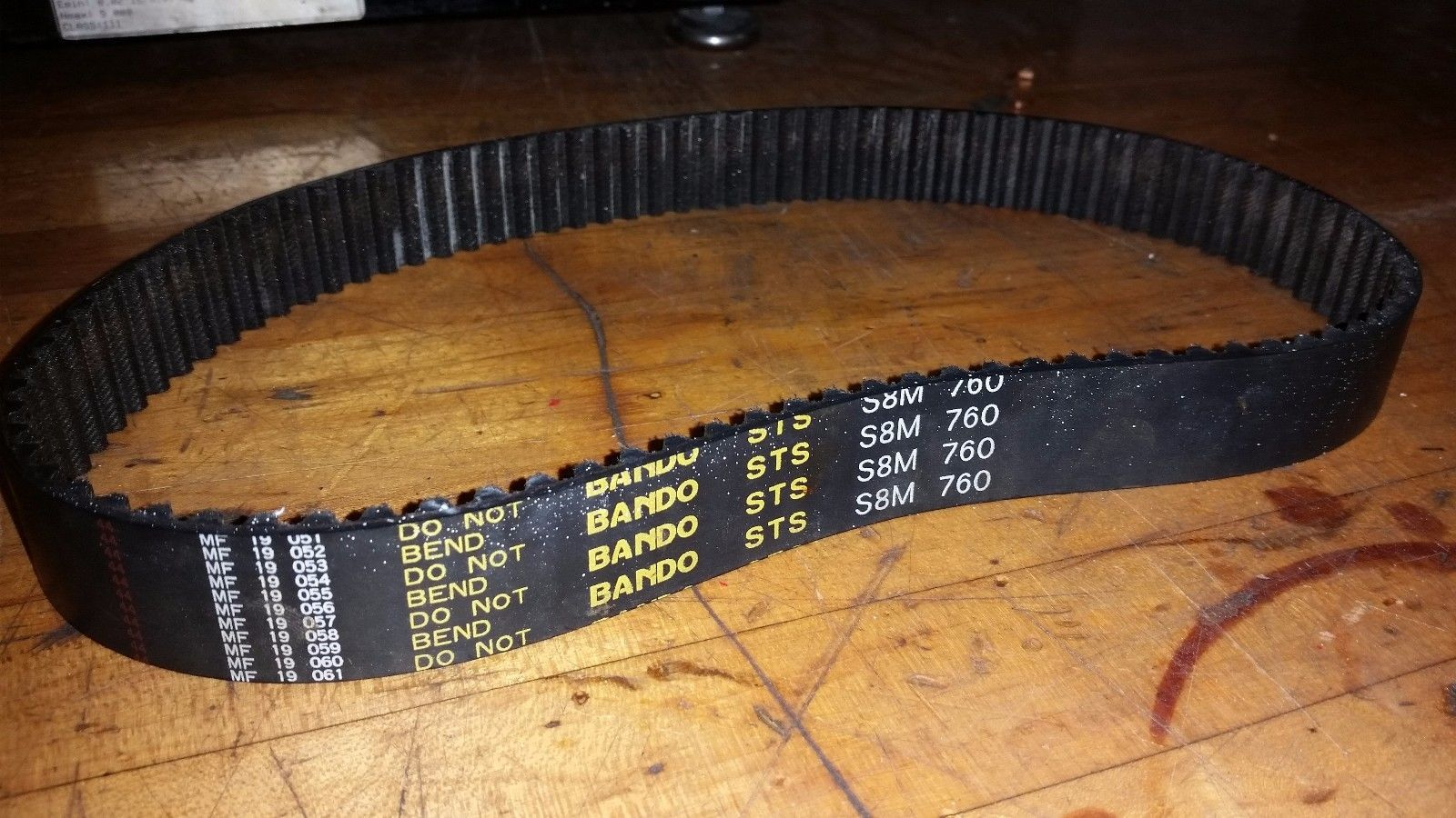 ONE Bando S8M-760 Timing Belt cogged toothed