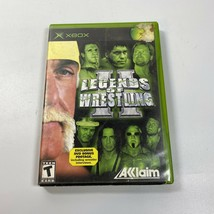 Legends of Wrestling II (Microsoft Xbox, 2002) Complete - $5.99