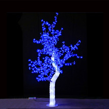 5ft/1.5 M blue led Light Crystal Cherry Blossom Tree party wedding holiday decor - $360.00