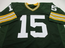 BART STARR / NFL HALL OF FAME / AUTOGRAPHED GREEN BAY PACKERS CUSTOM JERSEY COA image 2