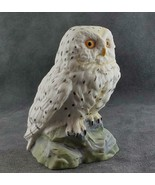 "Kaiser Porcelain Snowy Owl 4"" FREE SHIPPING - $49.95"