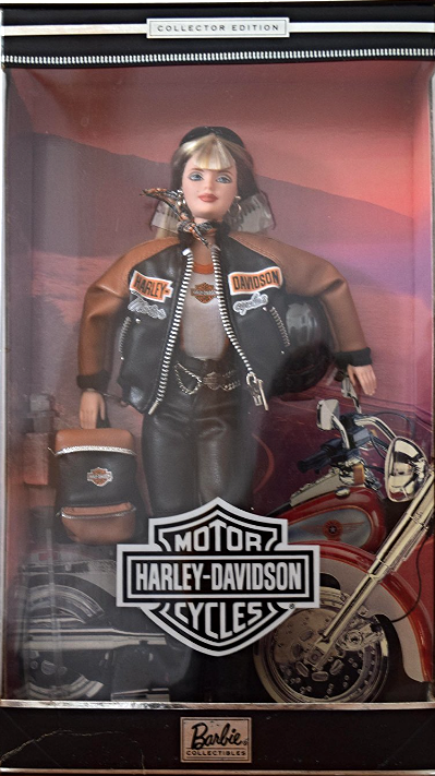 barbie collector edition harley davidson