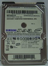 Rare Samsung MP0201H 20GB 2.5IN IDE Drive 3 in stock Tested Good Free US... - $49.95
