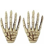 Halloween Party Skeleton Hand Decorations Pack of 2 Super Cool Hand Skel... - £11.43 GBP