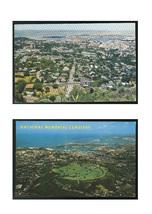 Aerial Vue Honolulu Hawaii from Punchbowl National Memorial Cemetery 2 P... - $4.99