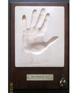 MUHAMMAD ALI /CASSIUS CLAY (RARE PLAQUE WITH AUTOGRAPH (AMAZING) - $599.99