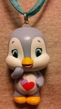 Care Bear Cousins Cozy Heart Penguin Necklace Care Bears Figure Jewelry - $9.79