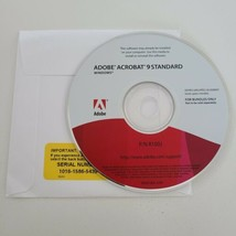 Adobe Acrobat 9 Standard for Windows -- Disc & Serial Number  - $49.45