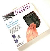 RARE NEW NOS Zelco THUMPER Travel Alarm Clock FREE SHIPPING! - $60.79