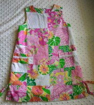 Lilly Pulitzer Girl's Dress Size 6, Shift, Lined, Sleeveless, pockets, t... - $36.94