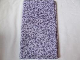 Muted Purple & Rich Purple Floral Quilting Fabric JoAnn Fabrics 1 Yard - $9.60