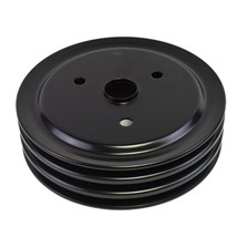 Crankshaft Pulley Triple-Groove SWP Short Water Pump For Chevy SBC 262 350 400
