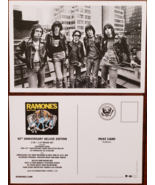 Lot of 2 RAMONES 40th Anniv Deluxe Edition Road To Run Promo Postcards,... - $3.95