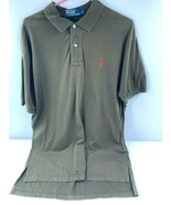 Polo Ralph Lauren Men's Dark Green Short Sleeve Polo Shirt Large Golf Re... - $13.09